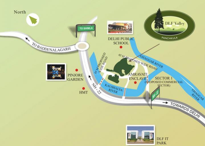 Dlf Valley Plots In Sector 3 Budanpur Price Reviews Floor Plan
