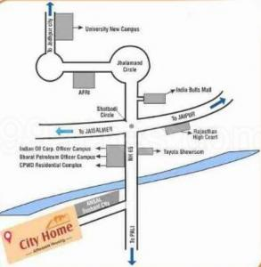 Project Image of 0 - 920 Sq.ft 2 BHK Apartment for buy in Jai City Home Apartments