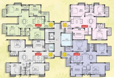 Gallery Cover Image of 1550 Sq.ft 3 BHK Apartment for buy in Green Ajanta, Anna Nagar for 17500000