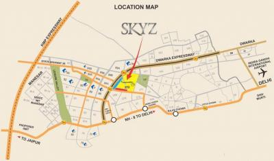 Gallery Cover Image of 2000 Sq.ft 3 BHK Apartment for buy in Skyz, Sector 37D for 12000000