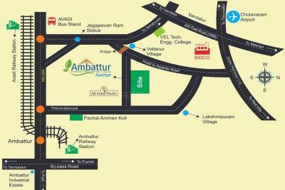 Project Image of 450 - 1506 Sq.ft Residential Plot Plot for buy in Vasantham Ambattur Avenue
