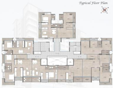 Project Image of 268.77 - 665.53 Sq.ft 1 BHK Apartment for buy in Shree Sai Shweta Heights
