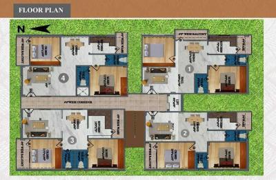 Project Image of 1000.0 - 1110.0 Sq.ft 2 BHK Apartment for buy in Venkatadri Residency