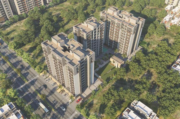 Project Image of 560.0 - 585.0 Sq.ft 2 BHK Apartment for buy in Samanvay Skyview