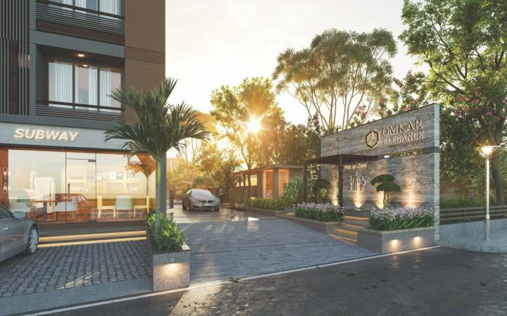 Project Image of 1206.0 - 1683.0 Sq.ft 2 BHK Apartment for buy in Omkar Elegance