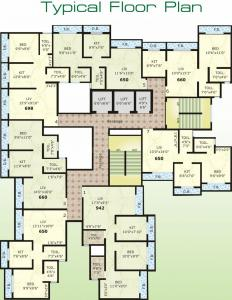 Project Image of 391.27 - 592.34 Sq.ft 1 BHK Apartment for buy in N K Sai Shikhar