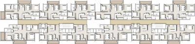 Project Image of 933 - 1708 Sq.ft 2 BHK Apartment for buy in Essar Vishwapriya Vertical Garden
