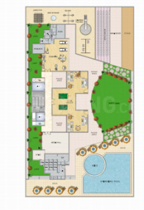 Gallery Cover Image of 1230 Sq.ft 2 BHK Apartment for rent in Keystone Elita, Kharghar for 27000