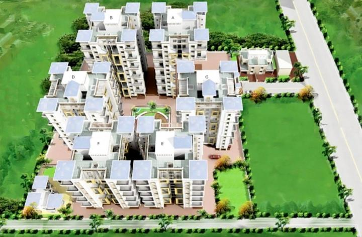 Project Image of 945 - 1017 Sq.ft 2 BHK Apartment for buy in Khinvasara Samarth Carina