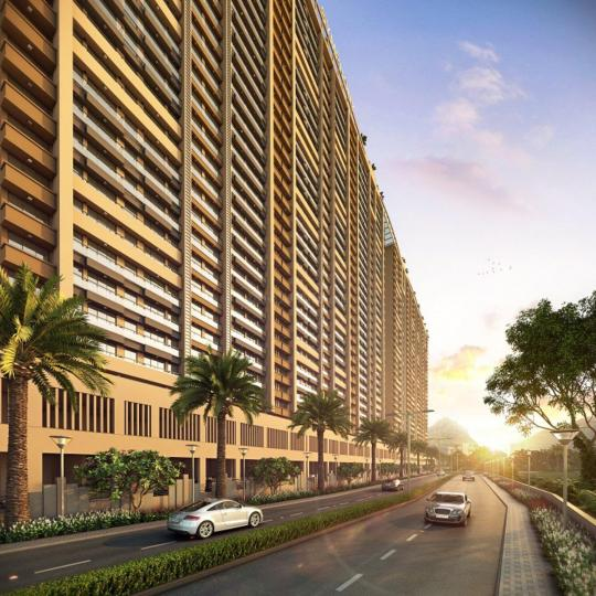 Project Image of 430.23 - 492.66 Sq.ft 2 BHK Apartment for buy in Space Balaji Symphony Wing I J And K
