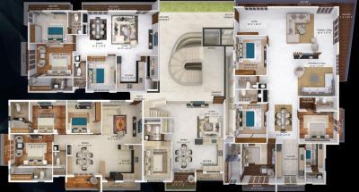 वैष्णोदेवी एल आप्युलन्स में खरीदने के लिए 2200.0 - 3887.0 Sq.ft 3 BHK अपार्टमेंट प्रोजेक्ट  की तस्वीर
