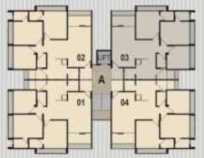 Project Image of 1053.0 - 1440.0 Sq.ft 2 BHK Apartment for buy in Sahjanand Dev Krupa Rhythm