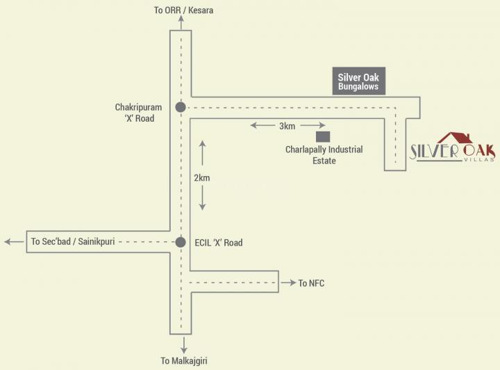 Project Image of 1098.0 - 2045.0 Sq.ft 2 BHK Villa for buy in Modi Silver Oak Villas