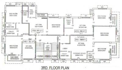 Project Image of 480.0 - 950.0 Sq.ft 1 BHK Apartment for buy in M M Banalata Abasan