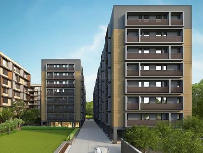 Gallery Cover Image of 1049 Sq.ft 2 BHK Apartment for buy in Bakeri Shaunak, Juhapura for 3556111