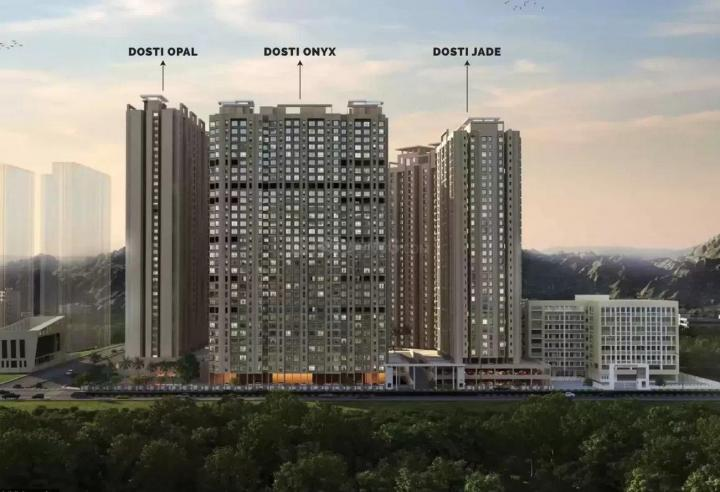 Project Image of 437.0 - 786.0 Sq.ft 1 BHK Apartment for buy in Dosti Planet North