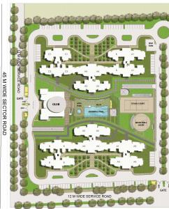 Gallery Cover Image of 1853 Sq.ft 3 BHK Apartment for buy in BPTP The Resort, Sector 75 for 5000000