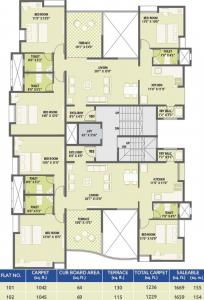 Project Image of 969.0 - 1000.0 Sq.ft 3 BHK Apartment for buy in Gokhale Swastishree