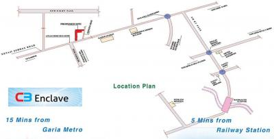 Project Image of 624.0 - 1443.0 Sq.ft 1 BHK Apartment for buy in CB Enclave