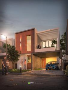 Gallery Cover Image of 1600 Sq.ft 3 BHK Villa for buy in Town Homes, Shankarpally for 7500000