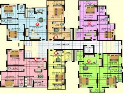 Project Image of 546 - 1080 Sq.ft 1 BHK Apartment for buy in Vishwakarma Siddhi Residency