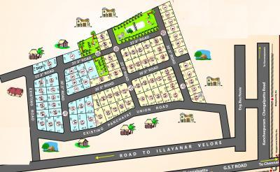 Project Image of 1800 - 2400 Sq.ft Residential Plot Plot for buy in Wisdom Sri Sathya Sai Nagar