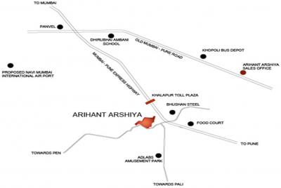 Project Image of 184.17 - 447.13 Sq.ft 1 BHK Apartment for buy in Arihant Arshiya Phase II