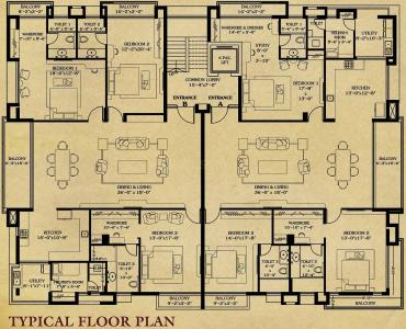 Project Image of 2500 - 3500 Sq.ft 3 BHK Apartment for buy in Apranje Nalkrish