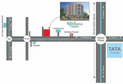 श्री पार्श्व क्लासिक अपार्टमेंट में खरीदने के लिए 291.0 - 573.0 Sq.ft 1 RK अपार्टमेंट प्रोजेक्ट  की तस्वीर