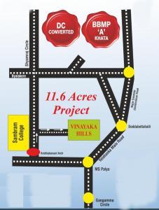 Project Image of 1050.0 - 1320.0 Sq.ft Residential Plot Plot for buy in KVR Vinayaka Hills