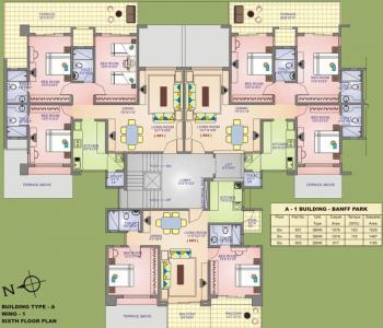 रविराज पार्क आइलैंड में खरीदने के लिए 1032 - 1575 Sq.ft 2 BHK अपार्टमेंट प्रोजेक्ट  की तस्वीर