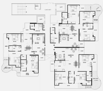 Project Image of 1085.0 - 2080.0 Sq.ft 2 BHK Apartment for buy in Gaursons Hi Tech Valerio