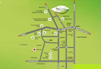 Project Image of 575.0 - 612.0 Sq.ft 2 BHK Apartment for buy in Kothari The Leaf Phase III