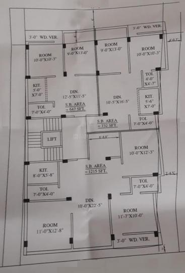 Project Image of 647.0 - 1215.0 Sq.ft 2 BHK Apartment for buy in Siddhaye Apartment 1