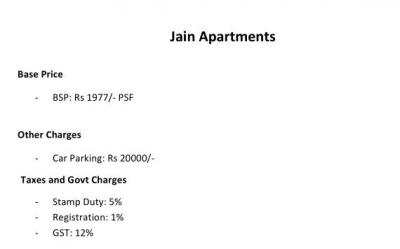 Project Image of 450.0 - 650.0 Sq.ft 1 BHK Apartment for buy in Jain Homes 1