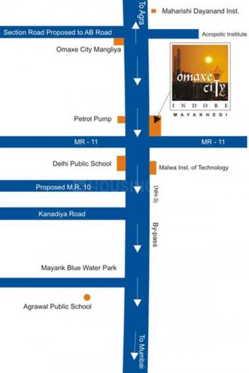 Project Image of 830.0 - 1919.0 Sq.ft Residential Plot Plot for buy in Omaxe Shubhangan Premium