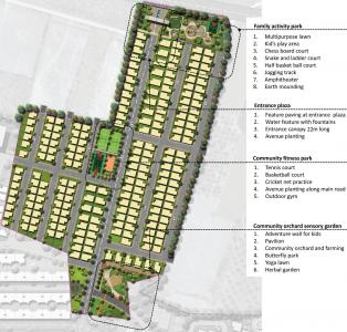 Project Image of 1268.0 - 2400.0 Sq.ft Residential Plot Plot for buy in Citrus One World