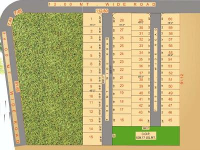 Residential Lands for Sale in Shyam Bunglows