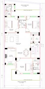 Gallery Cover Image of 740 Sq.ft 3 BHK Independent Floor for buy in Punit Floor 7, Sector 49 for 3200000