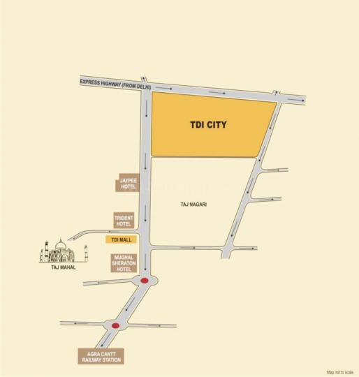 Project Image of 1800.0 - 3600.0 Sq.ft Residential Plot Plot for buy in TDI TDI City