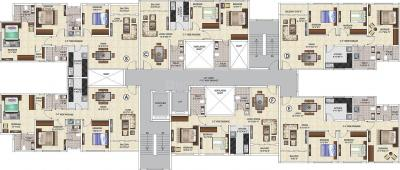 Gallery Cover Image of 1460 Sq.ft 3 BHK Apartment for buy in Ideal Grand, Shibpur for 9000000