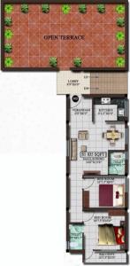 Project Image of 731.0 - 835.0 Sq.ft 2 BHK Apartment for buy in Srinivasa Vishnu