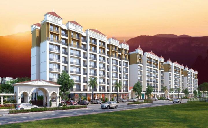 Project Image of 192.0 - 471.0 Sq.ft 1 BHK Apartment for buy in Nayan Swagat Village