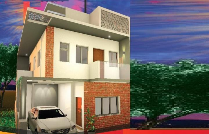 Project Image of 1700.0 - 1820.0 Sq.ft 3 BHK Villa for buy in Bharathi Brick Inspire Twin Villa
