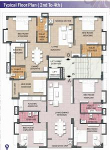 Project Image of 0 - 1675 Sq.ft 3 BHK Apartment for buy in Skyline Projects Profulla