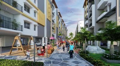 Project Image of 928.0 - 1681.0 Sq.ft 2 BHK Apartment for buy in Goldstone Jewel Park Pearl Block
