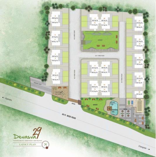 Project Image of 2025 - 2520 Sq.ft 2 BHK Villa for buy in DEVASVA 29