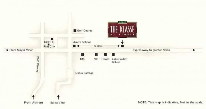 Project Image of 3580 - 5080 Sq.ft 4 BHK Apartment for buy in Eldeco The Klasse