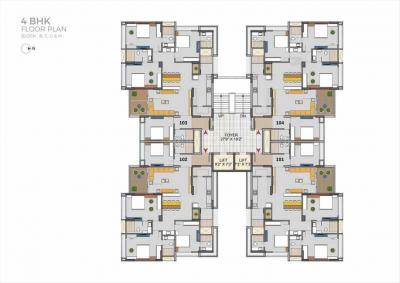 Project Image of 2230.0 - 3230.0 Sq.ft 3 BHK Apartment for buy in Aahna Shilp Shaligram