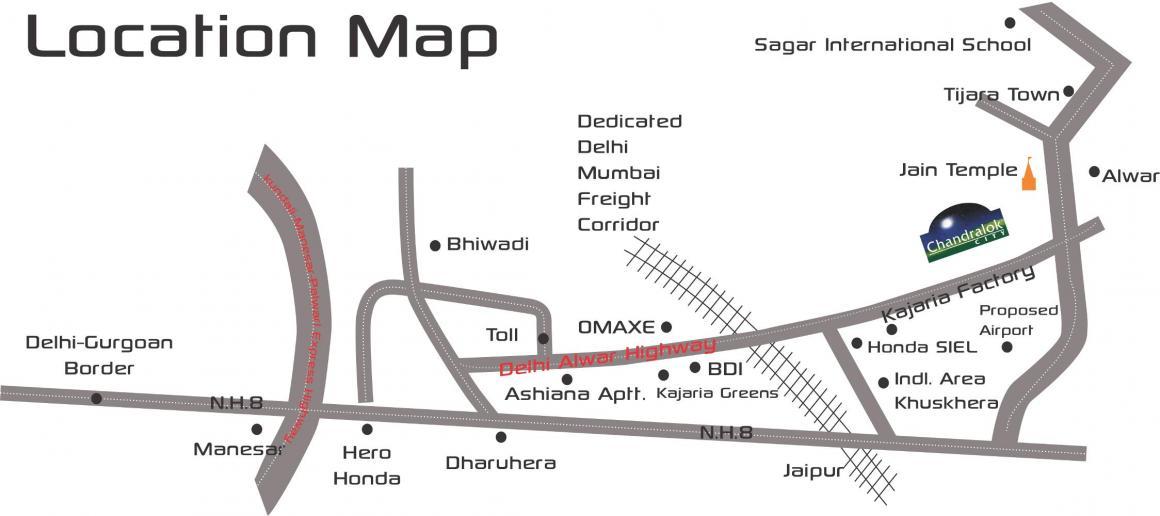 Chandraprabhu Chandralok City Plot
